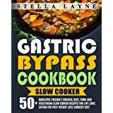 50+ Bariatric-Friendly Chicken, Beef, Pork and Vegetarian Slow Cooker Recipes for Life Long Eating for Post Weight Loss Surgery DietAll the recipes are under 5g sugar, 5g fat, 15g carbohydrates and over 10g protein. They are truly bariatric-friendly....