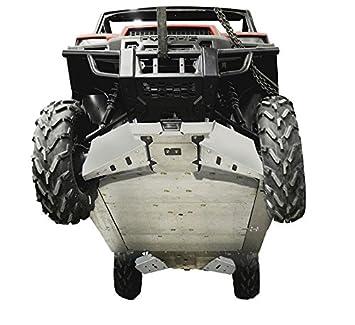 Polaris Ranger Crew 900 >> Amazon Com 13 Piece Complete Aluminum Skid Plate Set
