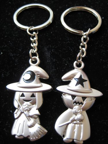 KBF52096 Halloween fairy couple keychain - Gift for -