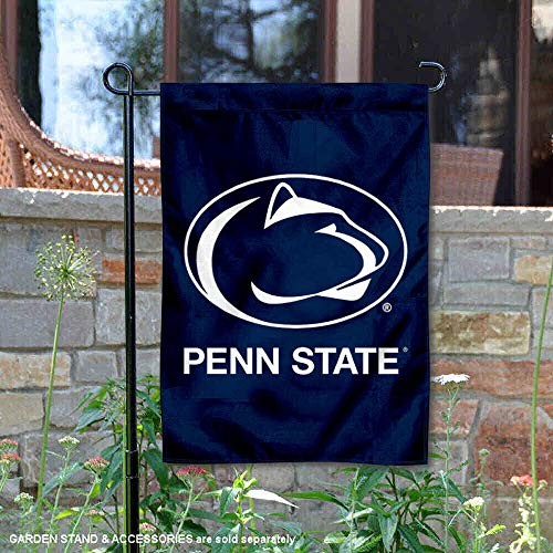 College Flags and Banners Co. Penn State Nittany Lions Blue Garden Flag