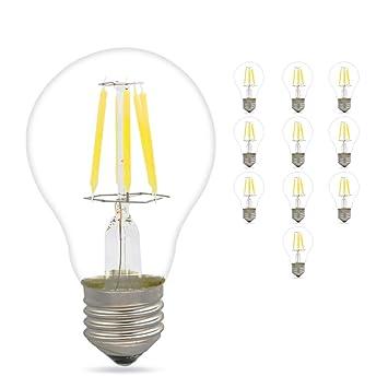 Bombilla LED de cristal de Mengjay, de 4, 6 y 8 W (E27, 350, ...