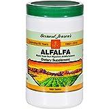 Pack of 1 x Bernard Jensen Alfalfa Leaf Tablets - 550 mg - 1000 Tablets