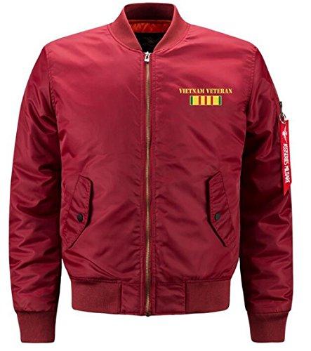 para DHYZZ Hombre Chaqueta rouge 823 xq50zO1w5