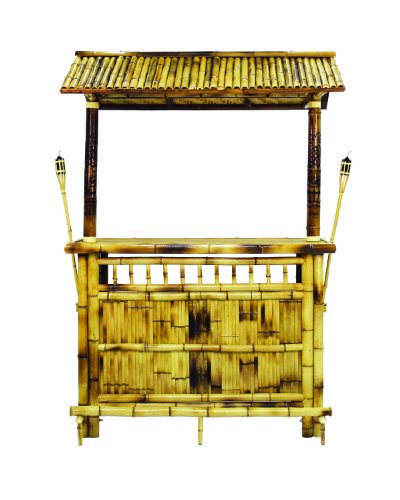 RAM Gameroom Products 60-Inch Bamboo Tiki -