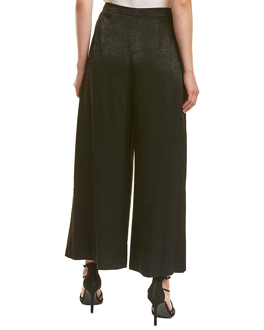 BCBGMAXAZRIA Womens Cuffed Tie Front Cropped Pant