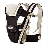 MeMeDa Breathable Multifunctional baby backpack carrier with Shoulder Sling - Baby Sling Backpack, Enhanced Safety Buckles (Beige)