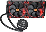 Thermaltake Water 3.0 AM4 Support 280 Riing RED Edition PWM AIO Tt LCS Certified Liquid Cooling System 3 Year Warranty CL-W138-PL14RE-A