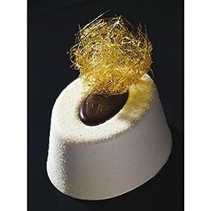 Molde flexible oval savarins xxl silicona - Moldes silicona amazon ...