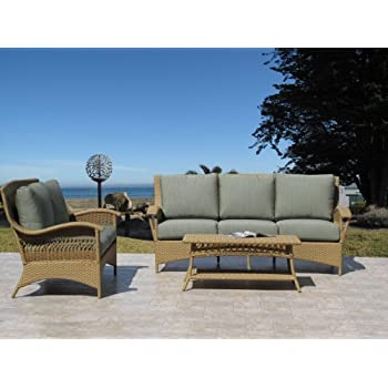 Amazon Com Havana Natural Outdoor Patio Furniture Resin