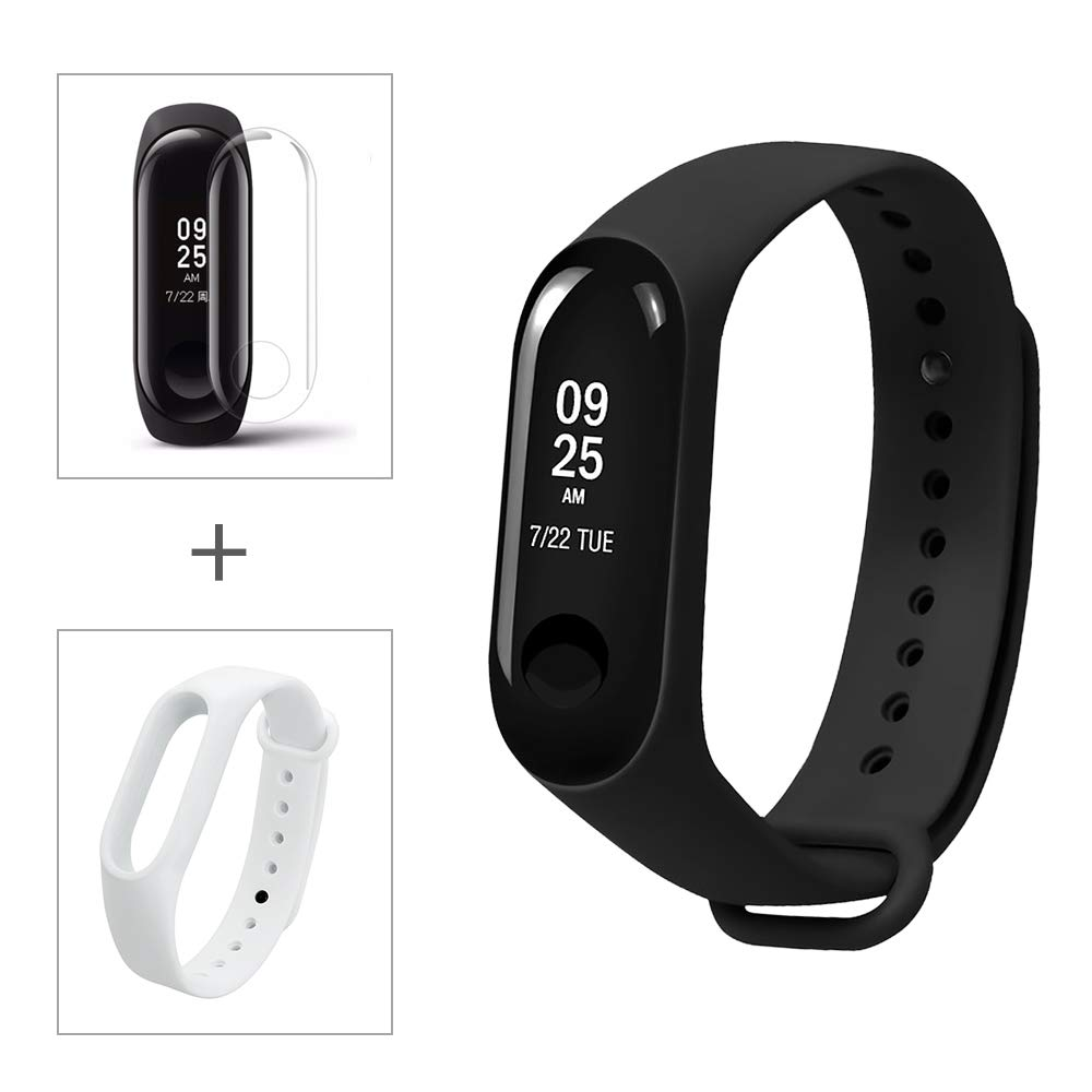 Amazon.com : Xiaomi Mi Band 3 Fitness Tracker Heart Rate ...