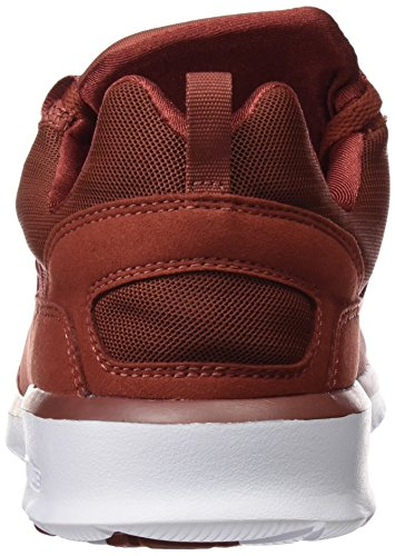 DC Shoes Heathrow M, Zapatillas para Hombre Rojo (Burnt Henna / White)