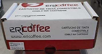 Cartucho DE Tinta ALIMENTARIA para Impresora ERICOFFEE