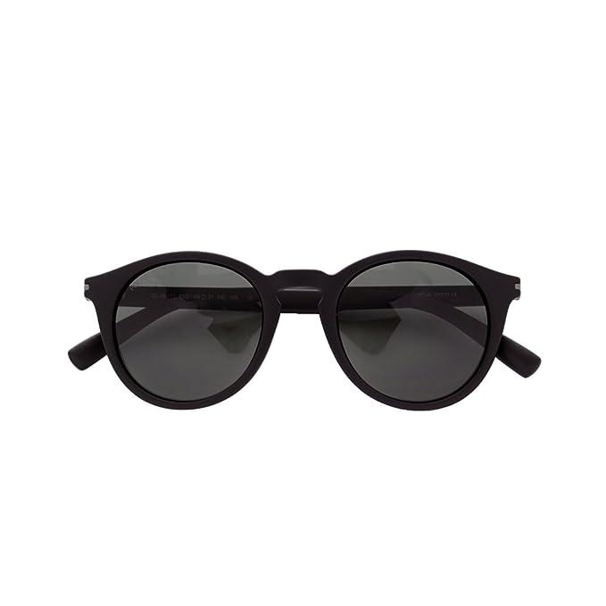 Gafas de sol para hombre Guy Laroche redondeadas negras ...