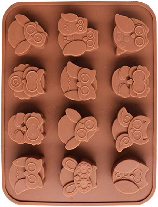 Amazon.com: Clearance Sale!DEESEE(TM) 12 búhos de silicona ...