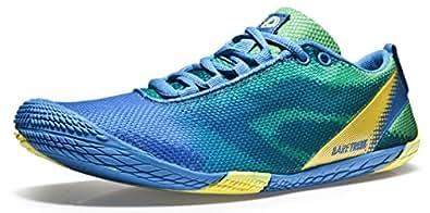 Tesla Men's Barefoot Training Running Trail Shoes BK30-BG_250
