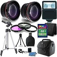 52mm Basic Starter Lens Accessory Kit for Nikon D3200 D3300 D5200 D5300 D5500 Digital SLR Camera
