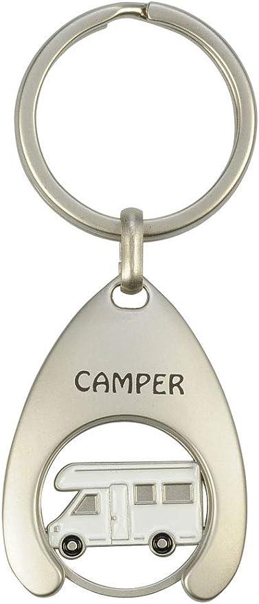 Schlüsselanhänger Mit Einkaufswagenchip Camper Koffer Rucksäcke Taschen
