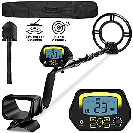 sakobs Metal Detector, Higher Accuracy Adjustable Waterproof...