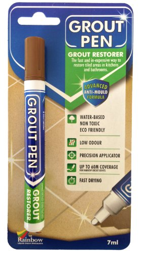 Grout Pen Brown - Ideal to Restore the Look of Tile Grout Lines