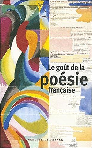En ligne Le goût de la poésie française pdf, epub