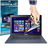 SmartGlaze ( Pack Of 3 ) ASUS Zenbook UX301LA 13.3 Touchscreen Laptop Case Custom Made Crystal Clear Premium LCD Screen Protectors Packs With Polishing Cloth & Application Card