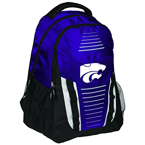 FOCO Kansas State Stripe Franchise Backpack by FOCO