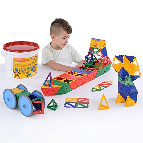 Mighty Tub (Polydron Mighty Tub (Age 5+) - 215 pieces for building 3-D models by Polydron)