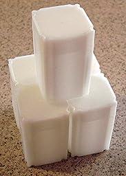 (5) Coinsafe Brand Square White Plastic (Silver Eagle) Size Coin Storage Tube Holders