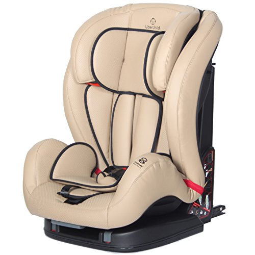 Uberchild Group 123 ISOFIX car seat - Beige: Amazon.co.uk: Baby