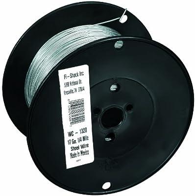 Fi-Shock WC-1320 1/4 Mile, 17 Gauge Spool Galvanized Steel Wire