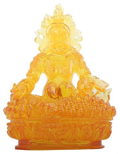 Fortune Figurine Buddhism Decoration Meditation