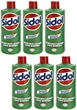 Henkel: Sidol Metallpolitur (Cleaner for metals), New Creamier Formula * 8.45 Ounces (250ml) Bottles (Pack of 6) * [ Italian Import ]