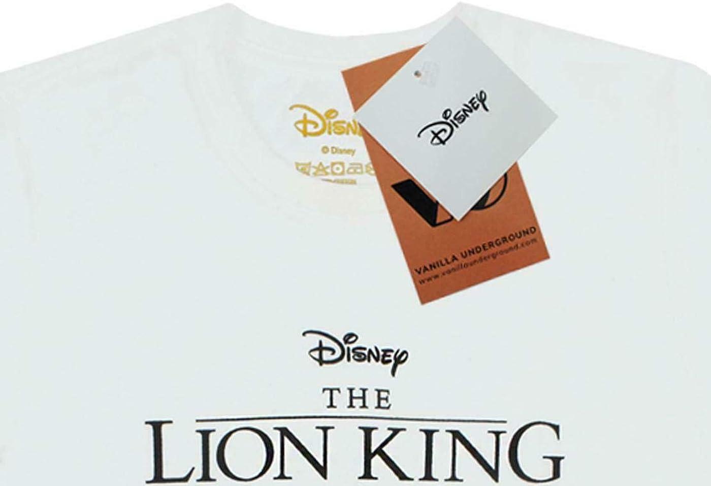 T-Shirt cintr/é pour Femme Cercle Disney de Disney Lion King Simba Cub of Life
