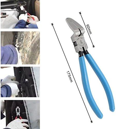 Car Special Fastener Tool Mutipurpose Diagonal Plier Car Trim Rivets Fastener Trim Clip Cutter Remover Puller Tool … by CUagain (Image #5)'