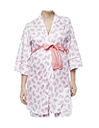 Belabumbum Paisley Dreams Matching Maternity/Nursing Robe