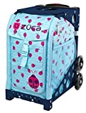 Zuca Ladybugz Sport Insert Bag and Navy Blue Frame with Flashing Wheels