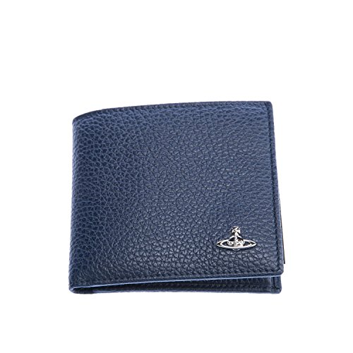 Vivienne Westwood Milano Basic Coin Wallet in Navy One Size