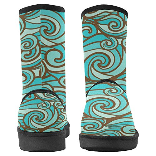 Winter Boots Unique Comfort 25 Boots Womens InterestPrint Multi Designed Snow RqPyWv