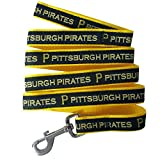 Pets First MLB Pittsburgh Pirates Dog Leash, Small