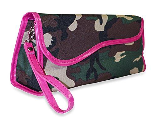 pink camo flat iron - 2