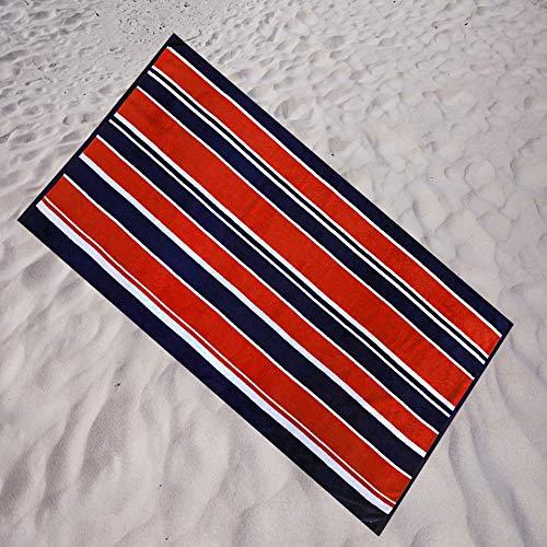 Espalma Americana Stripe Oversized Beach Towel, Over Sized Large Luxury 36