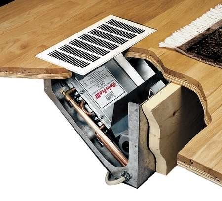 Hydronic-Heater-In-Floor-Cabinet