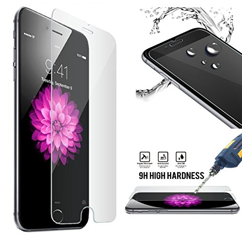 iPhone 8 Plus, 7 Plus , 6s Plus,6 Plus Screen Protector,Tempered Glass VicKro 0.26 mm Ballistic Glass Screen Film 3D Touch Compatible For Apple 8 Plus, 7 Plus 6s Plus 6 Plus(2-Pack)
