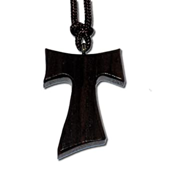 Amazon wooden tau cross with cord everything else wooden tau cross with cord mozeypictures Gallery