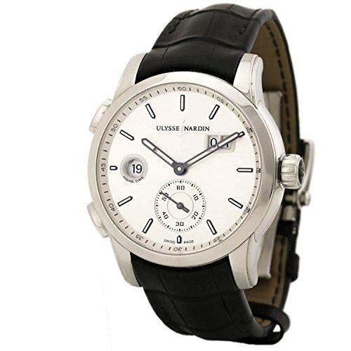 Ulysse Nardin Dual Time swiss-automatic mens Watch 3343-126-91 (Certified (Ulysse Nardin Dual Time)