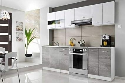 RADgermany Cucina da Incasso, 240 cm, per cucine, Colore ...