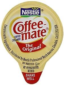 Coffee-mate Coffee Creamer, Original Liquid Singles, 3/8-Ounces Creamers (Pack of 96)