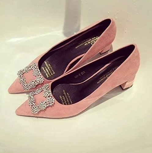 women pointed toe stiletto high heel shoes footwear sexy brand female spring fashion heeled pumps heels shoes P18196