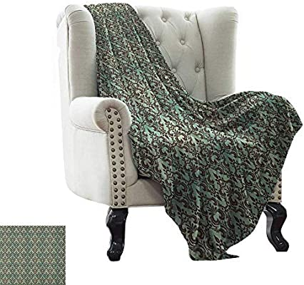 Amazing Amazon Com Belleackerman Couch Blanket Mint And Brown Cjindustries Chair Design For Home Cjindustriesco
