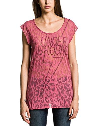 Replay W3568 .000.70764 - Camiseta para mujer Violett (LIGHT PLUM 508)